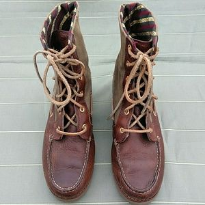 Sperry Shoes - Sperry women's lace up boot sz7